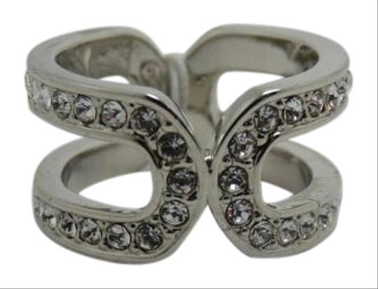 Preload https://item1.tradesy.com/images/coach-silver-tone-and-clear-pave-stones-design-size-7-ring-19808470-0-1.jpg?width=440&height=440