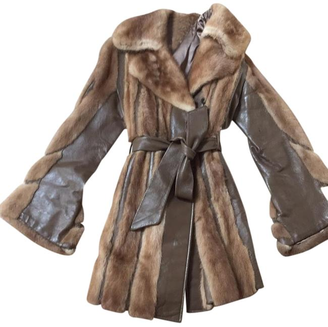 Preload https://item3.tradesy.com/images/taupe-no-fur-coat-size-8-m-19808492-0-1.jpg?width=400&height=650