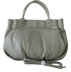 Carlos Falchi Satchel in Sage Green