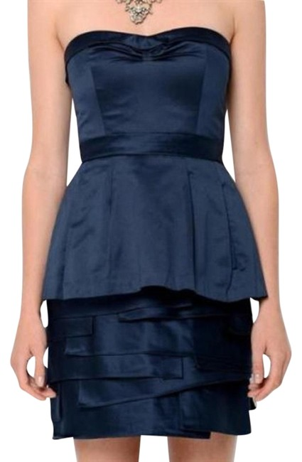 Preload https://img-static.tradesy.com/item/19808600/bcbgmaxazria-blue-satin-annika-origami-mini-cocktail-dress-size-4-s-0-1-650-650.jpg