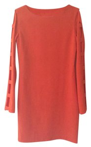 Thelure short dress Orange on Tradesy