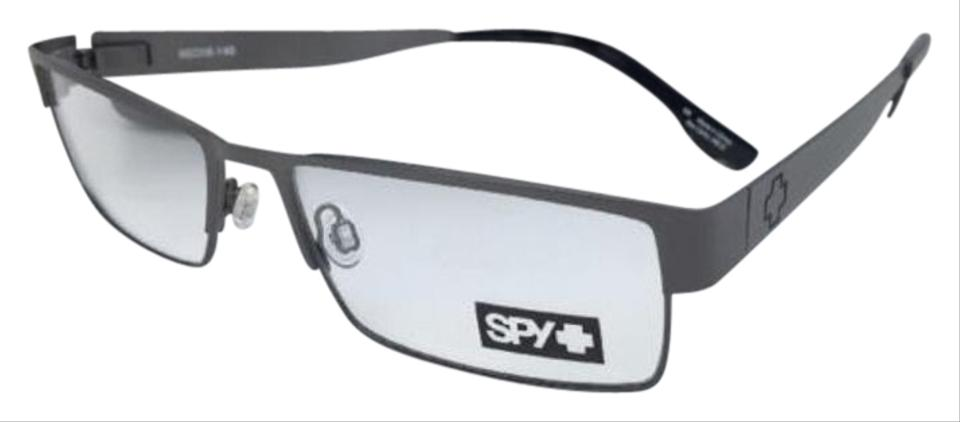 7fda589b3f Spy New SPY Optic Eyeglasses ELIJAH 55-16 Rectangular Gunmetal Frames Image  0 ...