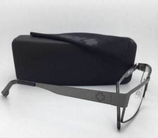 Spy New SPY Optic Eyeglasses ELIJAH 55-16 Rectangular Gunmetal Frames