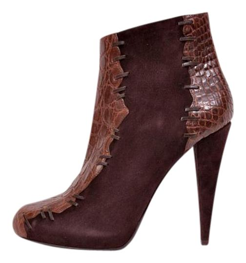 Preload https://img-static.tradesy.com/item/19808657/roberto-cavalli-brown-new-suede-alligator-leather-ankle-bootsbooties-size-us-85-regular-m-b-0-1-540-540.jpg