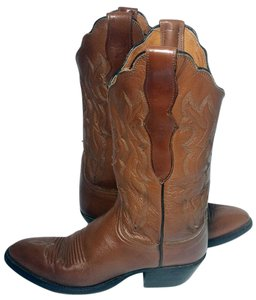 Lucchese Cowgirl 6.5 Brown Boots