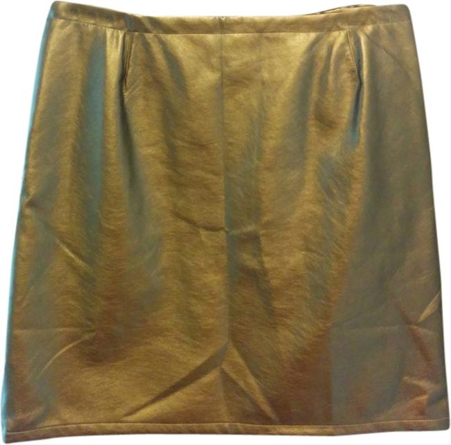 Preload https://item5.tradesy.com/images/tinley-road-skirt-gold-metallic-1980874-0-0.jpg?width=400&height=650