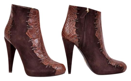 Preload https://item5.tradesy.com/images/roberto-cavalli-brown-new-suede-alligator-leather-ankle-bootsbooties-size-us-8-regular-m-b-19808764-0-1.jpg?width=440&height=440