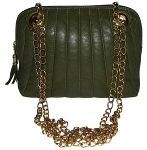 Valentino Leather Quilted Chain Fall Handbags Shoulder Bag