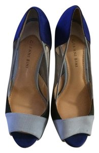 Gianni Bini Multi- Blue Clor Block Pumps