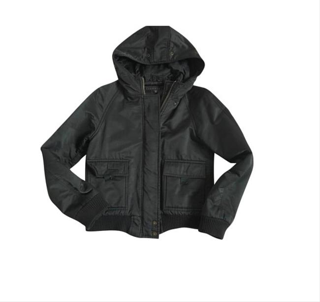 Theory Hood Black Jacket