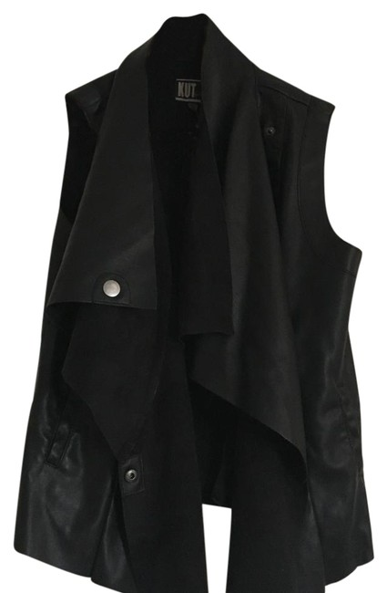 Preload https://img-static.tradesy.com/item/19808939/kut-from-the-kloth-black-faux-leather-vest-size-4-s-0-1-650-650.jpg