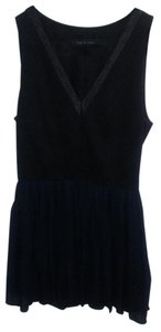 Rag & Bone short dress Black and blue on Tradesy