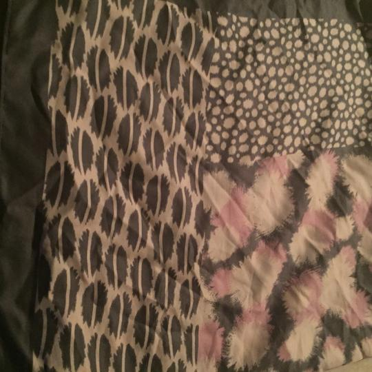 Other Pink And Gray Scarf