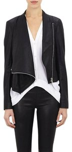 Helmut Lang Dvf Vince Rag & Bone Haute Hippie Alexander Wang Blue Leather Jacket