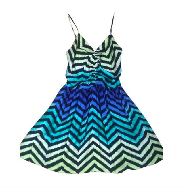 Preload https://img-static.tradesy.com/item/19809001/parker-black-green-blue-yellow-multi-colored-silk-party-above-knee-night-out-dress-size-0-xs-0-0-650-650.jpg