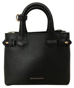 Burberry Leather Tote Cross Body Bag