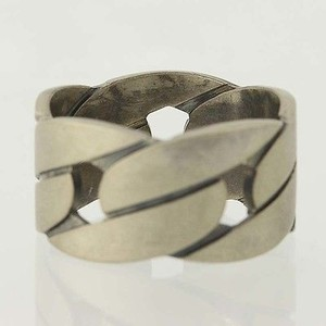 Mens Gucci Ring - Sterling Silver Band Italian Designer 11.75 Matte