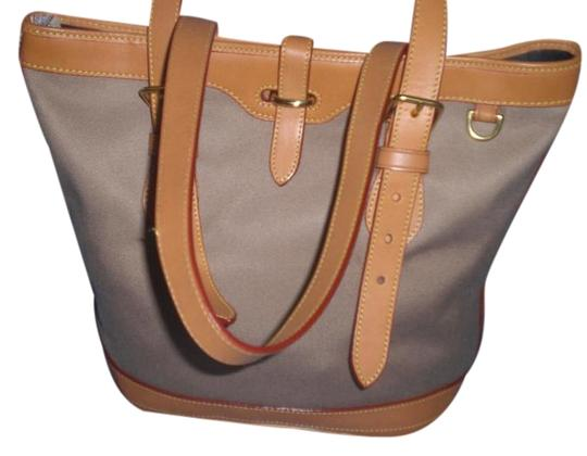 Preload https://item2.tradesy.com/images/dooney-and-bourke-brown-canvasleather-tote-19809121-0-1.jpg?width=440&height=440