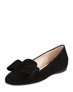 Prada Smoking Slipper Black Flats