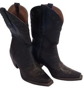 Ariat Vintage Leather Black Boots
