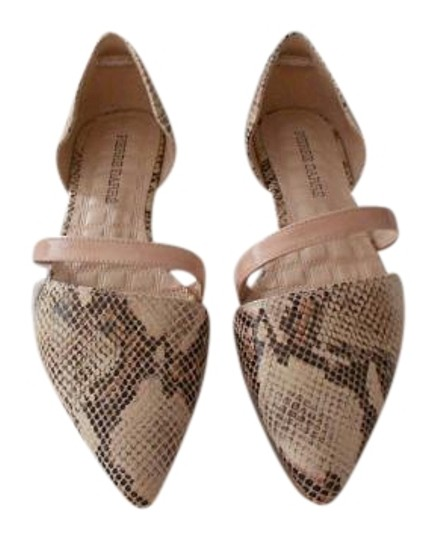 Preload https://item3.tradesy.com/images/pink-reptile-embossed-d-orsay-flats-size-eu-40-approx-us-10-regular-m-b-19809302-0-1.jpg?width=440&height=440