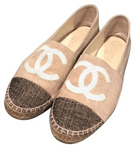 Chanel Beige and black Athletic