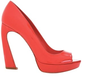 Miu Miu Patent Red Sandals