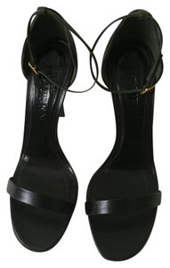 Alexander McQueen Black/Military Green Sandals