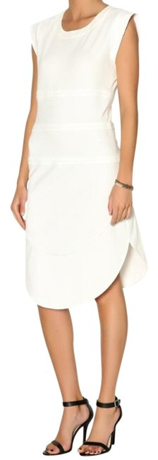 Preload https://img-static.tradesy.com/item/19809483/white-fitted-tunic-knee-length-workoffice-dress-size-4-s-0-3-650-650.jpg