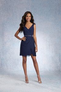 Alfred Angelo Claret 7338s Formal Bridesmaid/Mob Dress Size 14 (L)
