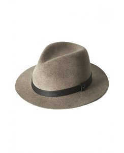 Rag & Bone Rag and Bone Abbott Fedora Hat Taupe