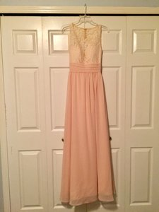 Champagne (Lace); Blush Pink (Lining & Skirt) Serendipity Dress