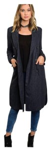 Others Follow Wool Trench Pea Coat