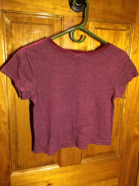 Urban Outfitters T Shirt Maroon