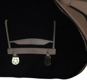 Dooney & Bourke Navy And Tan Travel Bag