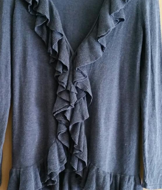 INC International Concepts Ruffle Casual Cardigan