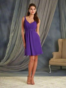Alfred Angelo Pool 7366s Formal Bridesmaid/Mob Dress Size 4 (S)
