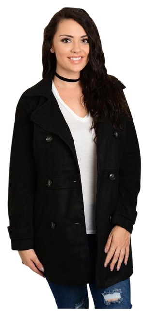 Preload https://item5.tradesy.com/images/black-new-collared-pea-coat-size-24-plus-2x-19809869-0-1.jpg?width=400&height=650