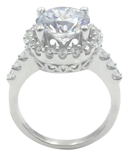 Preload https://item3.tradesy.com/images/white-czsilver-3-carat-cubic-zirconia-rhodium-plated-925-sterling-ring-19809942-0-1.jpg?width=440&height=440