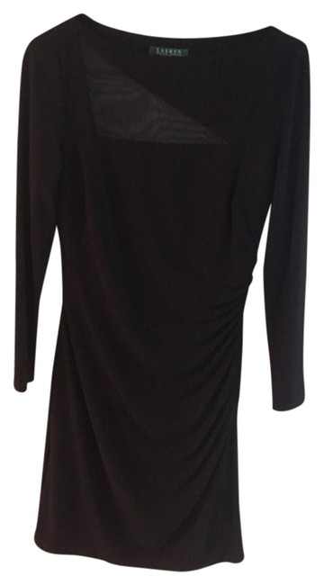 Preload https://img-static.tradesy.com/item/19809956/ralph-lauren-black-mid-length-night-out-dress-size-6-s-0-1-650-650.jpg