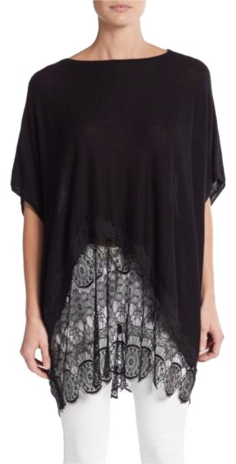 Preload https://item3.tradesy.com/images/black-off-center-inset-scallop-bottom-s-m-l-xl-tunic-size-8-m-19810002-0-1.jpg?width=400&height=650
