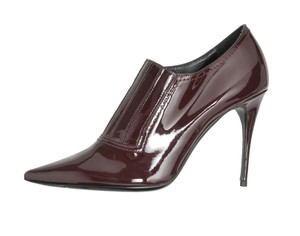 Valentino Patent Leather Boot Burgundy, Red Boots