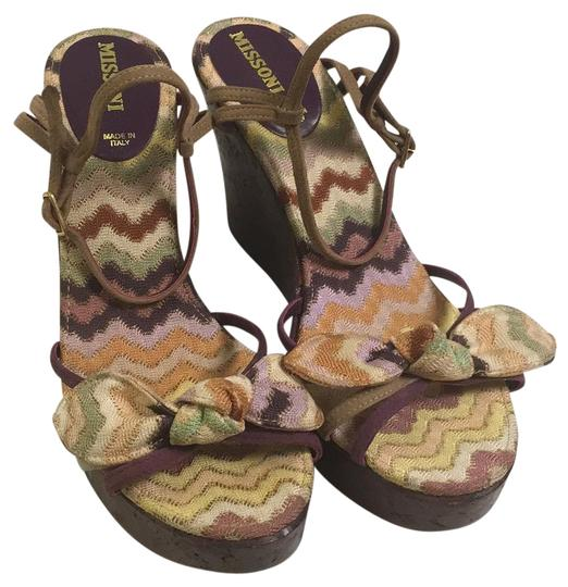 Preload https://item5.tradesy.com/images/missoni-multicolor-chevron-print-suede-and-canvas-cork-wedges-size-us-95-regular-m-b-19810049-0-1.jpg?width=440&height=440
