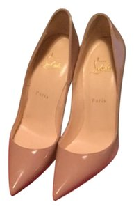 Christian Louboutin So Kate nude Pumps