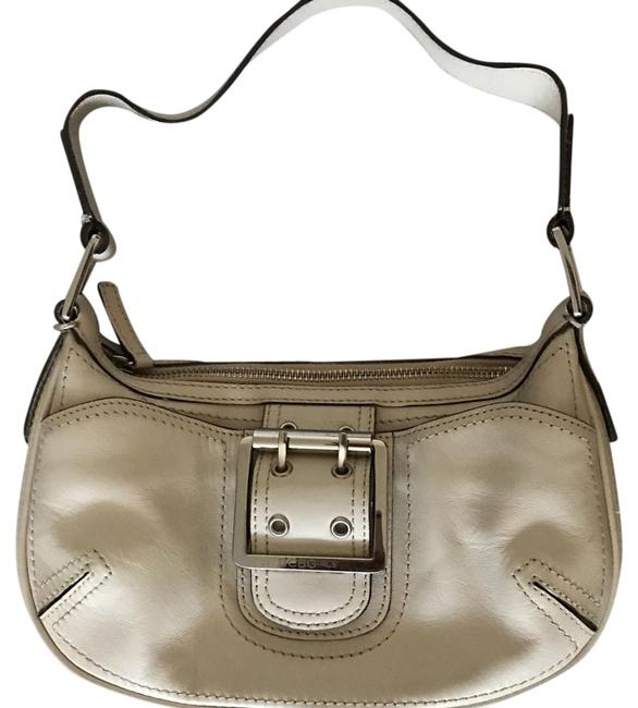 Item - Mini Handbag Ivory Leather Clutch