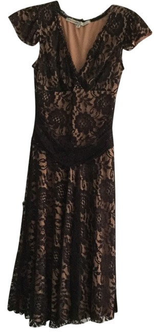 Corey Lynn Calter Lace Sweetheart A-line Nude Dress