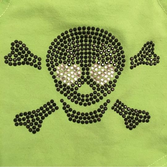 Animal wrappers Small Dog (1-5lbs) Rhinestone Skull Sweater