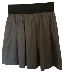 INC International Concepts Mini Skirt Slate Grey