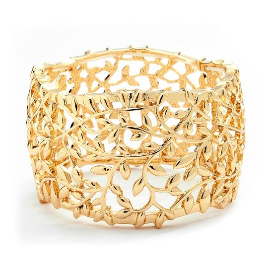 Preload https://img-static.tradesy.com/item/19810353/mariell-gold-open-vine-stretch-4115b-g-bracelet-0-0-540-540.jpg