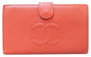 Chanel Chanel Calfskin Caviar Leather Timeless wallet Clutch Bag